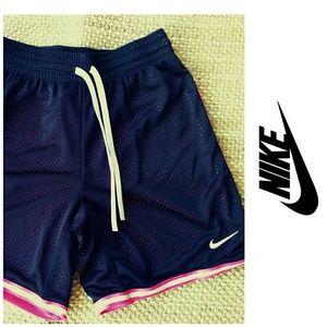Nike Dri Fit Women's Short, black/pink, size xs